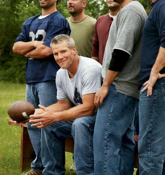 Oh Brett Favre, still so handsome!