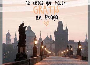 ¿Es cara Praga? Bueno... depende de cómo te lo montas! Aquí te damos unas cuantas ideas de cosas que ver y hacer gratis en Praga
