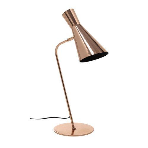 e90 Lampada da scrivania in metallo ramato H 61 cm HARRIS COPPER