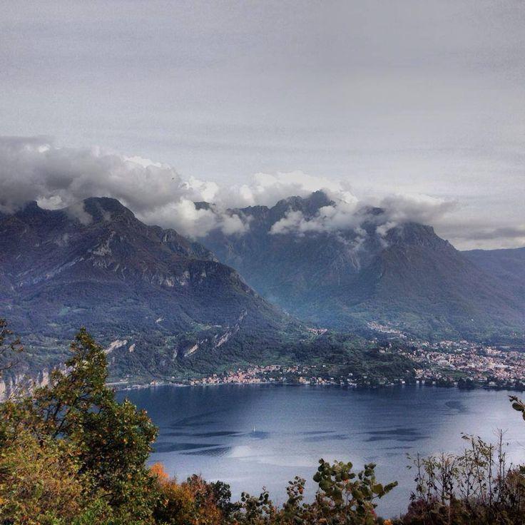 Lago di Como e i colori dell'autunno #lagodicomo