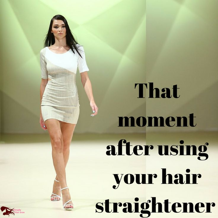 That moment after using your hair straightener  http://www.simplyflatiron.com/best-flat-iron-black-hair-isa-professional-flat-iron-review-revealed/
