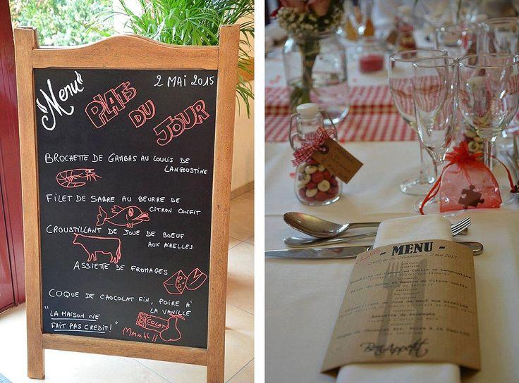 30 best Menus de mariage images on Pinterest