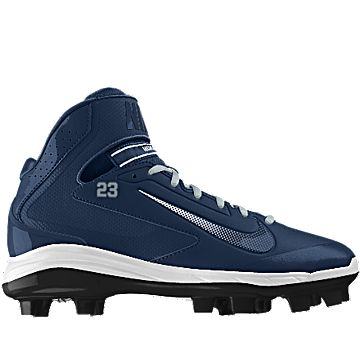 Just customized and ordered this Nike Air Huarache Pro Mid MCS iD Men\u0027s Baseball  Cleat from NIKEiD. #MYNIKEiDS | Got It | Pinterest | Baseball cleats, ...