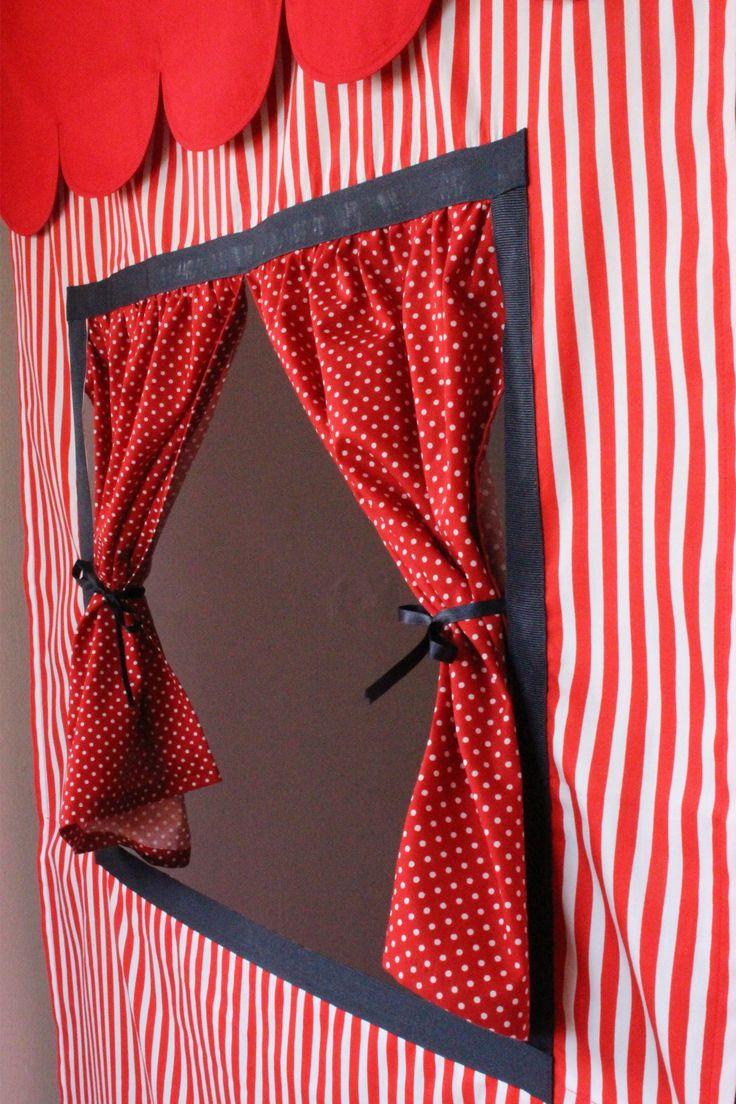 Doorway Puppet Theatre Curtains