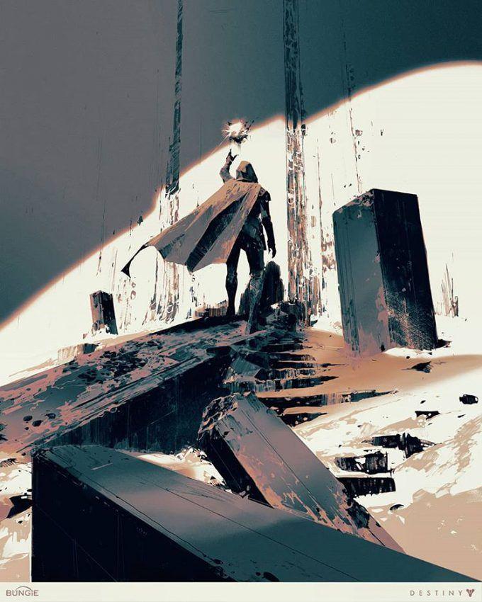 7592afaf547 Destiny Grimoire Anthology Illustrations by Piotr Jabłoński ...
