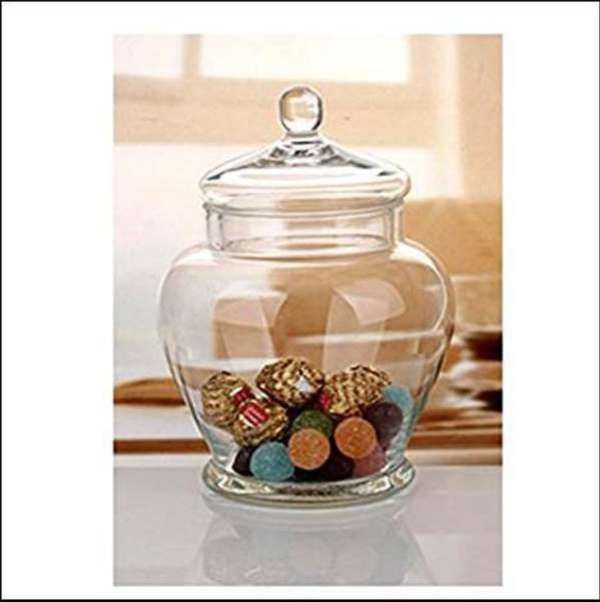 Clear Glass Decorative Containers