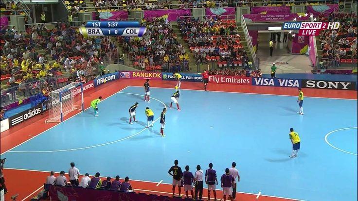 Brazil v Colombia 2012