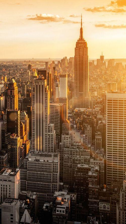 Amazing view of Manhattan, New York City