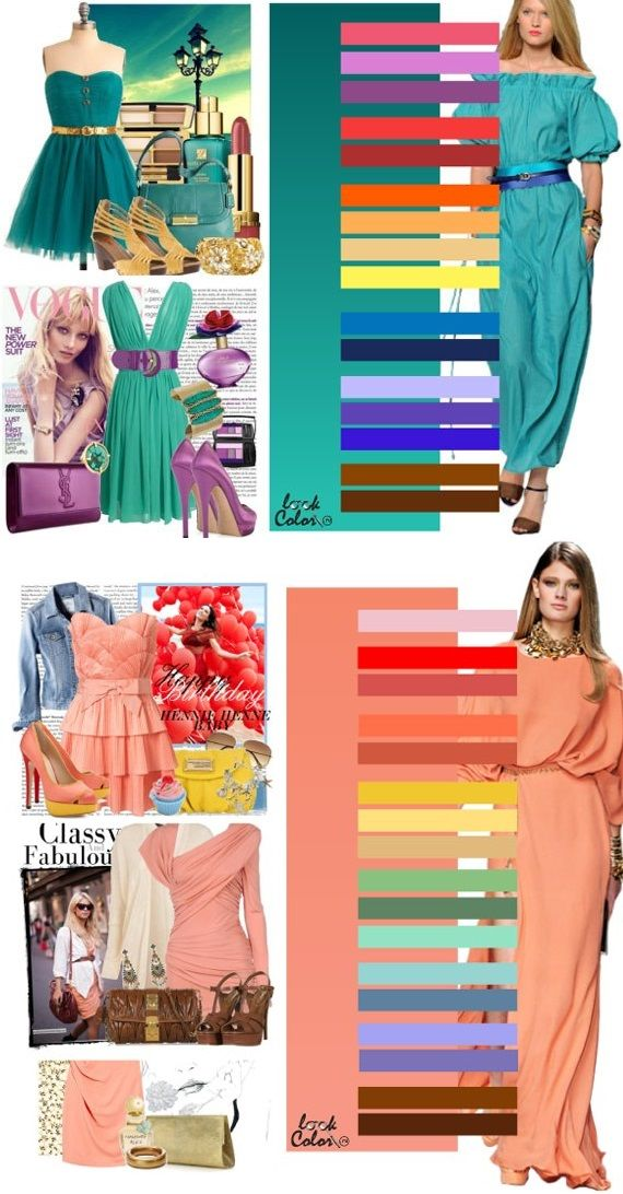 How to Combine Colors when Choosing Clothes