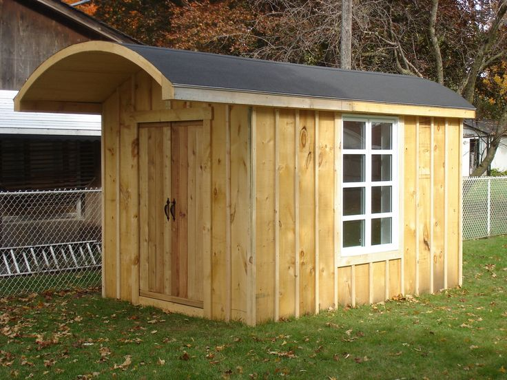 Best Shed With A Curved Roof I Always Wanted To Built A Shed 640 x 480