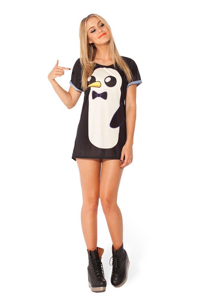 Gunter BFT #blackmilk #penguin #love