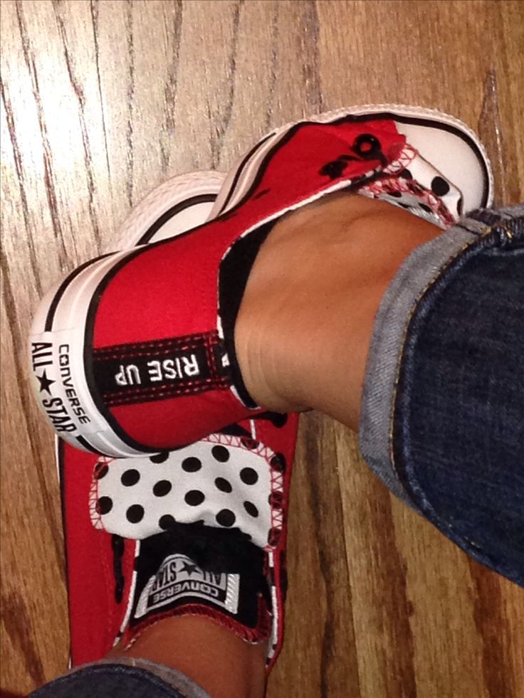 Atlanta Falcons Converse - for Game Day!