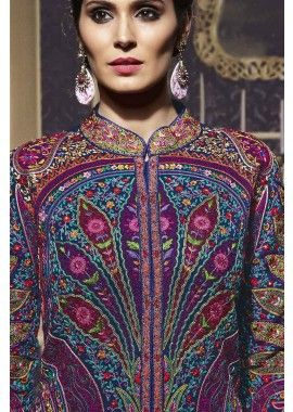 Multi Georgette Anarkali Suit, - £134.00, #IndianDress #AnarkaliSuit #Fashion #AnarkaliSuit UK #Shopkund