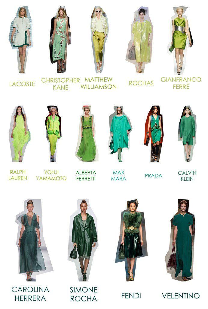 SS 14 Trends: Green