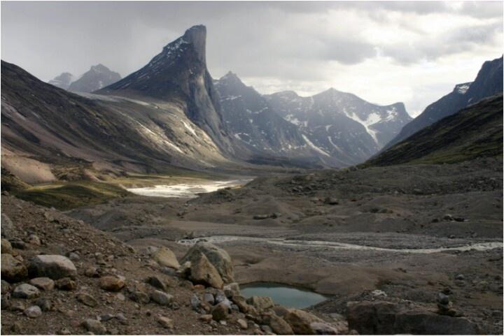 baffin island nunavut canada