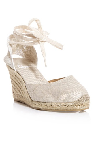 Bought these last summer and they are still all the rage ~ Castaner Carina Espadrilles