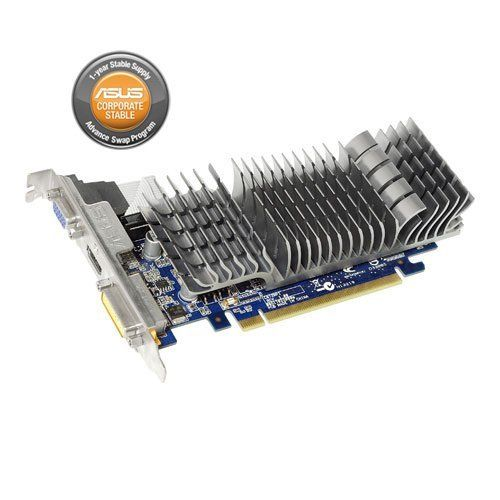Asus Nvidia Geforce Gt 210 1Gb Pci-Express Pcie Dvi/Vga Video Card With Low Profile Bracket, Model En210 Silent/Di/1Gd3/V2(Lp)-by-Asus by Asus. $53.06. Memory Clock 1200 MHz ( 600 MHz DDR3 ). RAMDAC 400 MHz. Memory Interface 64-bit. Resolution D-Sub Max Resolution: 2560x1600. DVI Max Resolution: 2048x1536. Interface D-Sub Output: Yes x 1. DVI Output: Yes x 1 (DVI-I). HDMI Output: Yes x 1. Software ASUS Utilities & Driver. Low Profile Bracket Bundled Yes ( 1 slot...