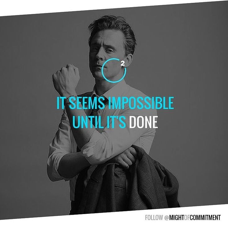 Impossible? Is it? Follow @mightofcommitment for #motivational #inspirational #quotes