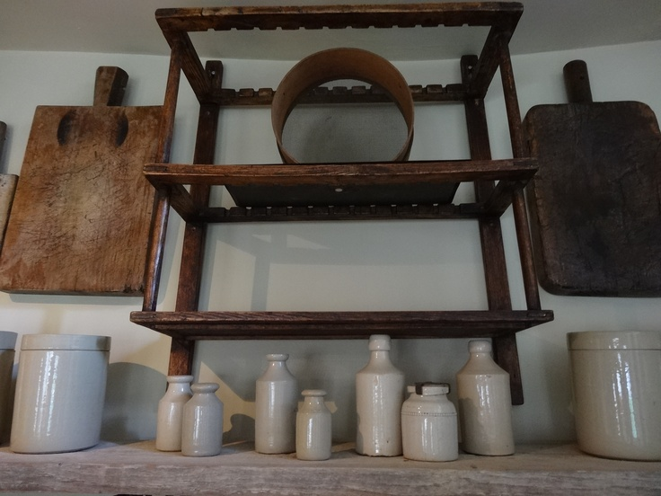 Kitchen Collection of Old Cutting Boards Sifter Plate Rack and Victorian Period Earthen Ware & 85 best Kitchen Paraphernalia images on Pinterest | Hollywood ...