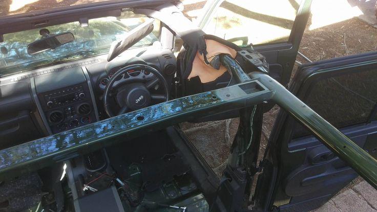 Stripping back Common rail, Jeep jk, Installation