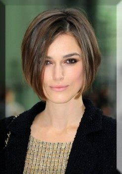 I like her hair a lot here... probably going to shorten my front and try for a little Keira (Kiera?) Knightley.