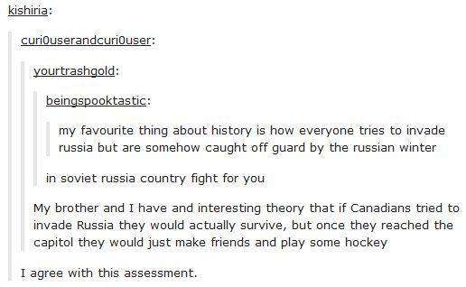 Als Tumblr sich eine kanadische Invasion vorstellt…