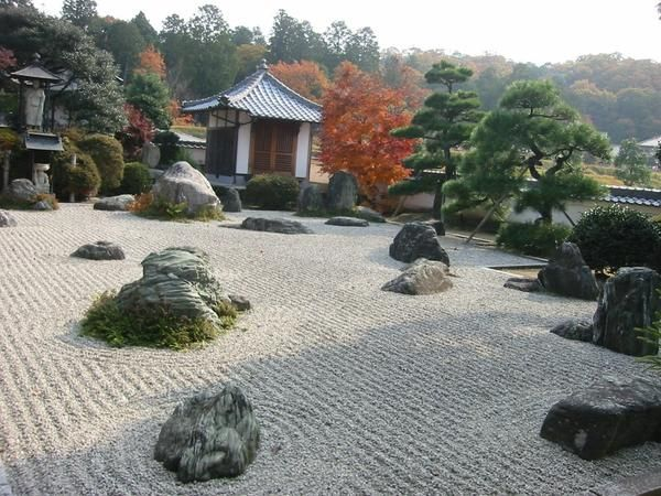 гравийные сады на Востоке