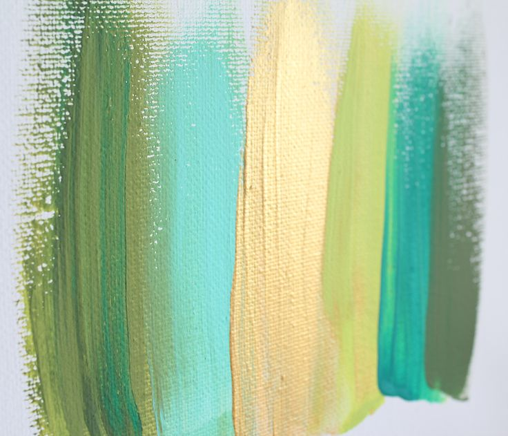 Love this - makes me think of tropical rainforests :)  'Colours 34' by Jen Ramos