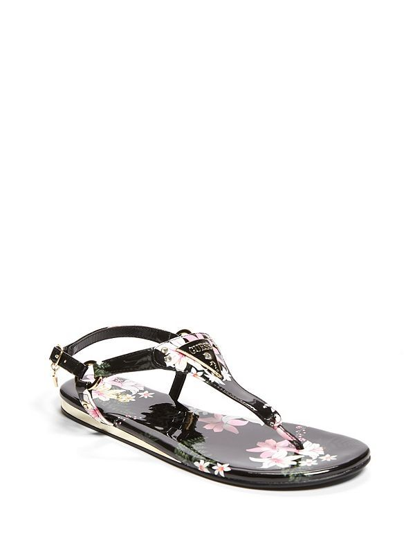 912082016d9ef Carmela T-Strap Sandals | GuessFactory.com | Guess | T strap sandals ...