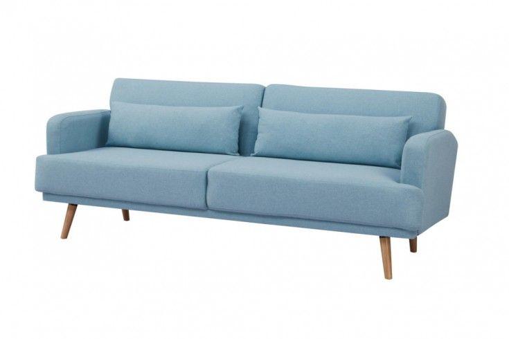 Elegantes 3 Sitzer Sofa Studio 214cm Aqua Inkl Kissen Mit Schlaffunktion Ein Blickfang In Jedem Wohnzimmer Zeitlos Schon Und Wunder Sofa 3er Sofa Sofa Couch