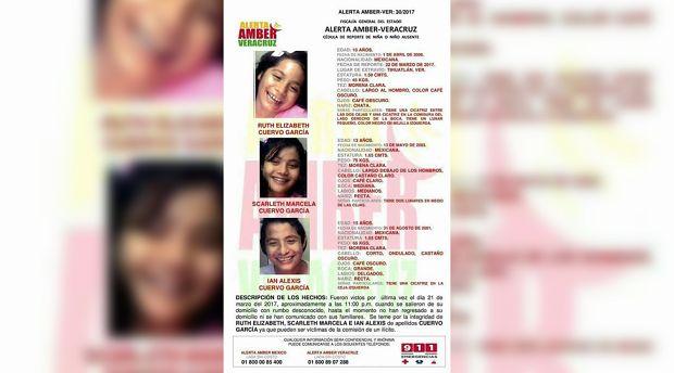 Desaparecen 3 niñas de Poza Rica de 10, 13 y 15 años - http://www.esnoticiaveracruz.com/desaparecen-3-ninas-de-poza-rica-de-10-13-y-15-anos/