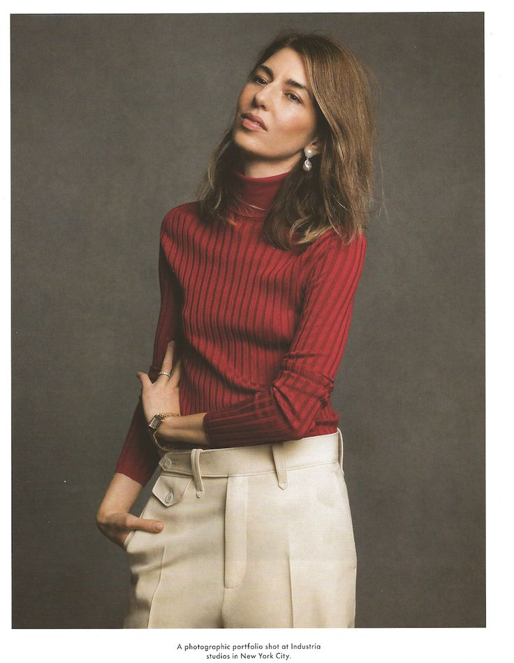 Sofia Coppola shot by Inez & Vinoodh for The Gentlewoman Spring 2017