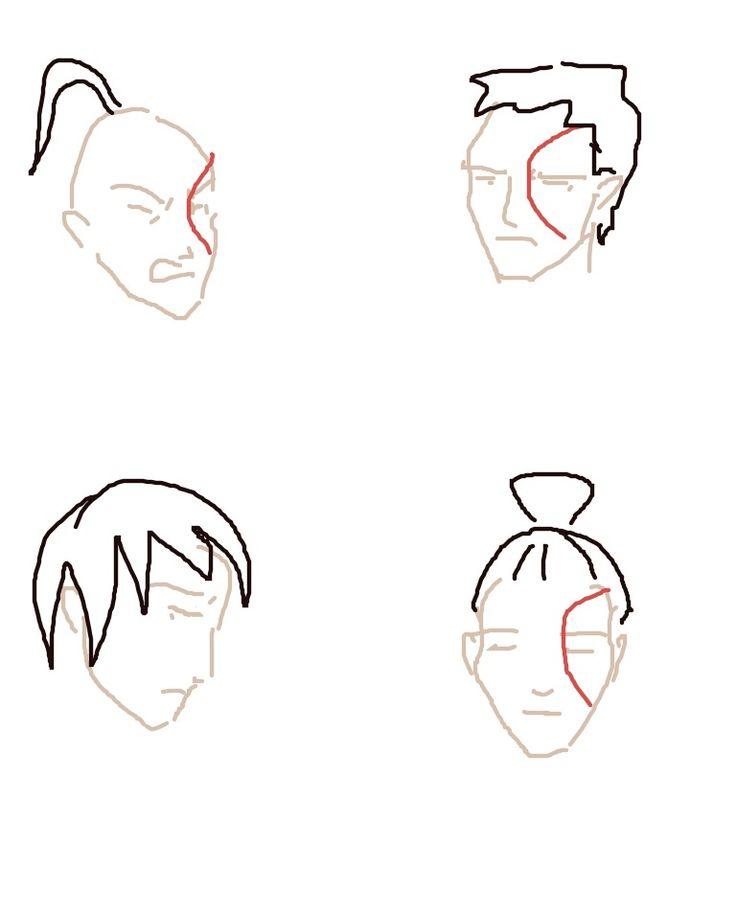 4 stages of Zuko