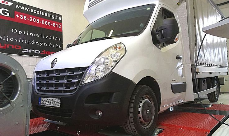 Renault Master 2.3DCI Chiptuning referencia