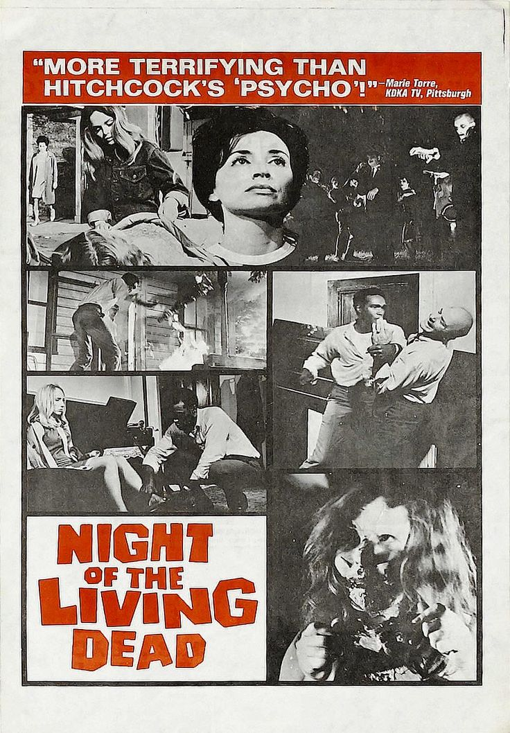 Night Of The Living Dead Poster | Night Of The Living Dead (1968) |