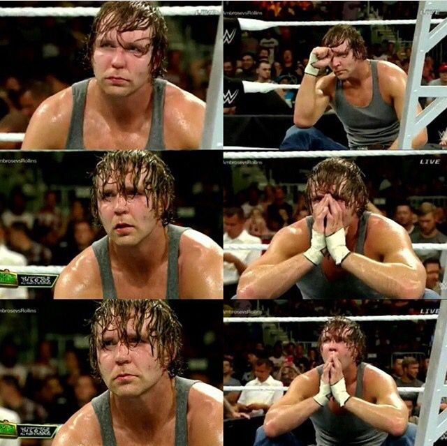 He looks so sad and I don't like seeing my Lunatic Fringe like this #GiveDeanAChance