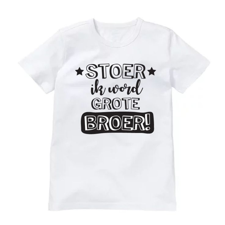 Grote Broer-shirt Stoer
