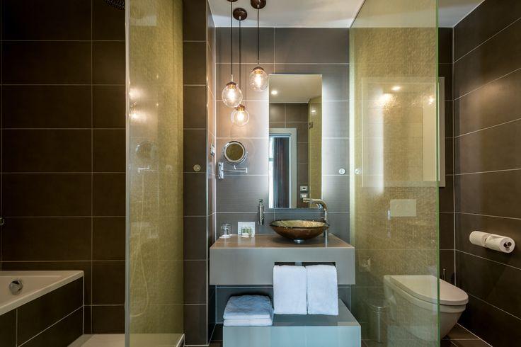 Unique combination of shower and bath