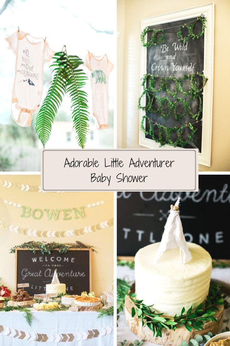 Little Adventurer Baby Shower (100 Layer Cakelet)