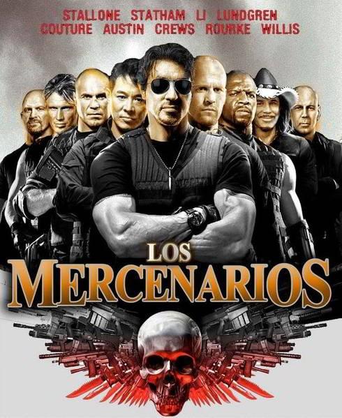 Ver Los Indestructibles Los Mercenarios 2010 Online Descargar Hd Gratis Espanol Latino Subtitulada Expendables Movie The Expendables Movie Posters