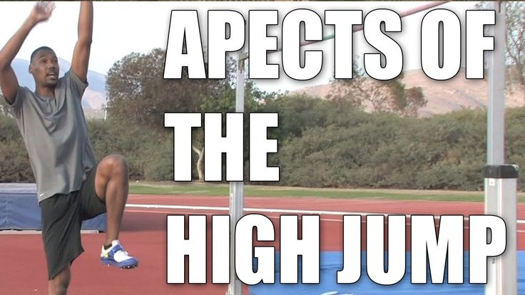 Aspects of the High Jump : High Jump Tips... Good summary of the final phase of the high jump; how to minimize knee injuries.