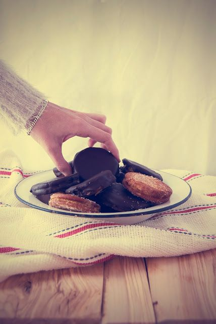 La asaltante de dulces: Receta de Galletas fritas/ Fried cookies recipe. Delicious!