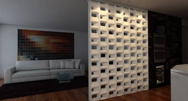 3d Block Diy Mold Concnrete Molds Wall Panel Plastic Etsy In 2020 Partition Wall Diy Molding Breeze Block Wall