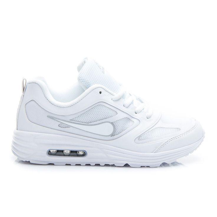 WHITE SPORTS ACTIVE TOPÁNKY  Športová obuv pre ženy, pre aktívne trávenie voľného času.  Stadnardowe šnurovanie umožňuje perfektné fit ste urobili.  Tlustý gumová podrážka zvyšuje komfort.  Rewelcyjne beh, alebo športu.  Materiál: koženka, Mesh http://www.cosmopolitus.com/buty-sportowe-white-active-bialy-b712w-s399p-p-106009.html?language=sk&pID=106009 #damske #topanky #tenisky #Nike #slipon #sport #sneakersy