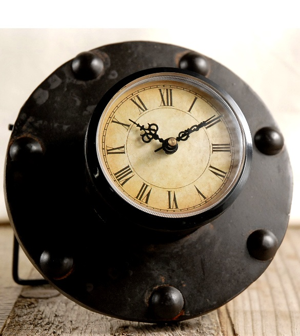 Cast iron clock - 10$.  This site has a ton of cool stuff at amazing prices