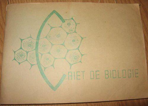 Caiet de biologie