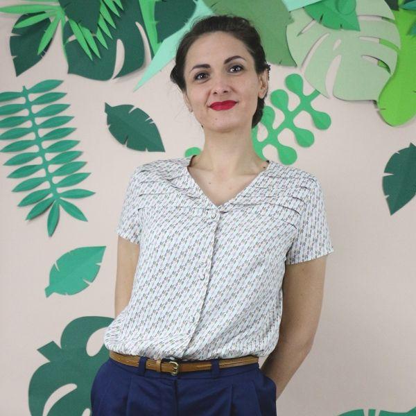 Top URSULA - Patron de couture République du Chiffon