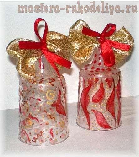 Мастер-класс: Новогодние колокольчики из одноразовых стаканчиков