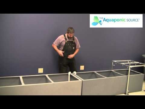 How to build an aquaponics bridge siphon for sump tanks
