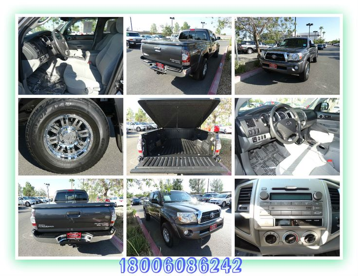 Used Truck 2011 Toyota Tacoma Access Cab PreRunner Pickup for Sale, SR5 Extra Value Pkg, Tilt and telescoping Wheel, Traction Control, AM/FM Stereo, Stability Control, MP3 Single Disc, ABS 4 Wheel, Dual Air Bags, Air Conditioning, Side Air Bags, Sliding Rear Window, F&R Head Curtain Air Bags, Power windows, Bed Liner, Power Door Locks, Towing Pkg, Cruise Control, Premium Wheels, Power Steering, Miles 40,985, Certified, Color Gray, Transmission Automatic, Year 2011, Make Toyota, Model Tacoma